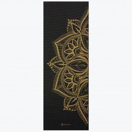 05 63418 6MM METALLIC YOGA MAT BRONZE MEDALLION B