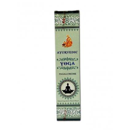 Flexity Ayurvedic Yoga kadidlo masala vonné tyčinky 15 g