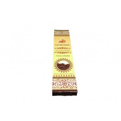 Flexity Ayurvedic Agarwood kadidlo masala vonné tyčinky 15 g