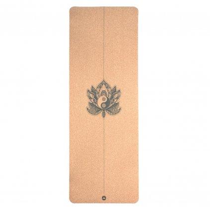 632cy yogamatte kork yin yang above