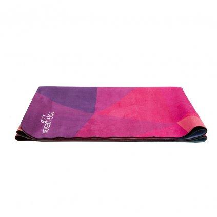 Yoga Design Lab Travel Mat Geo joga podložka 1mm s popruhom na nosenie