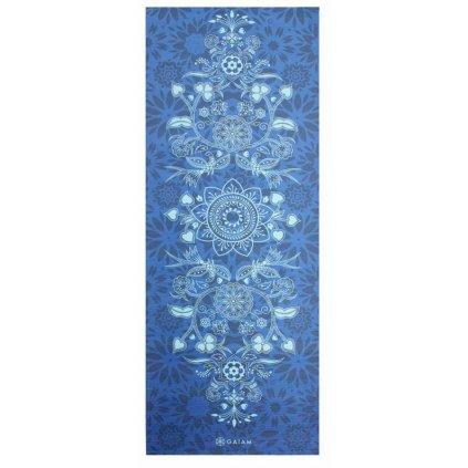 Gaiam Divine joga Podložka modrá 6mm 173cm