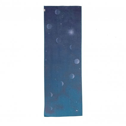 907adm yoga bodhi grip towel art collection dusty moon above