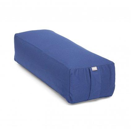 155b yoga zubehoer salamba bolster eco dinkelhuelsen dunkelblau (1)