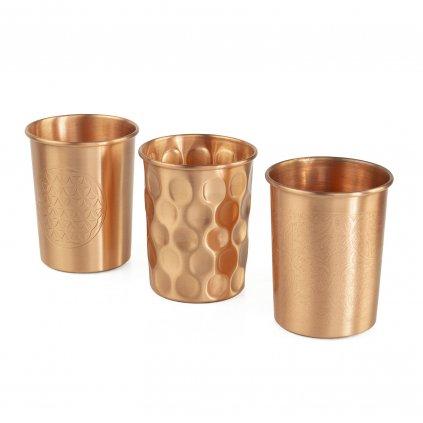 Bodhi medený pohár 250 ml - 2 kusy v balení