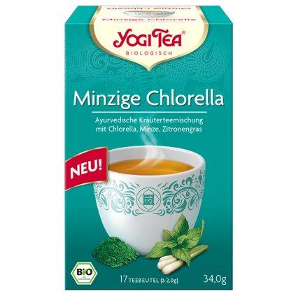 Minzige Chlorella Yogi Tee 2