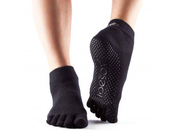 Objedajte si ToeSox Fulltoe Ankle grip ponožky  (čierna) za 13,99 Dovoz od 75 EUR zdarma, doručenie do 2 dní, 98% spokojnosť, 100 dní na vrátenie. 1524/MOD 1
