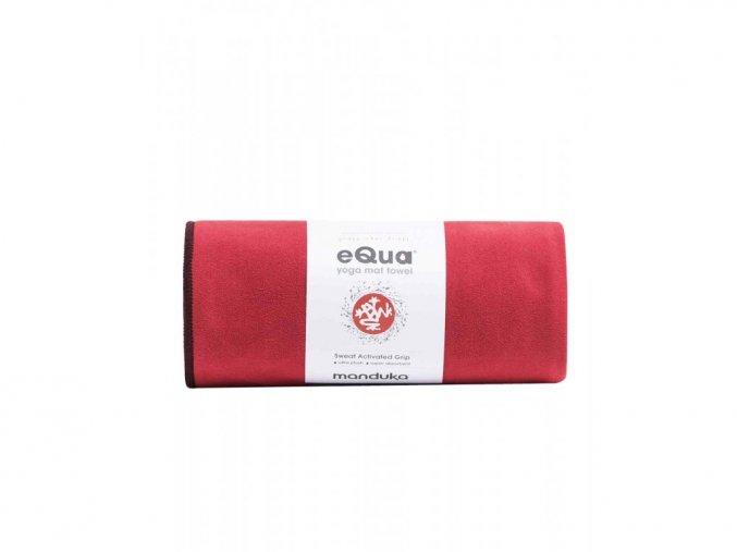 Manduka equa® joga uterák na ruky - Passion 67 x 40 cm (červená)