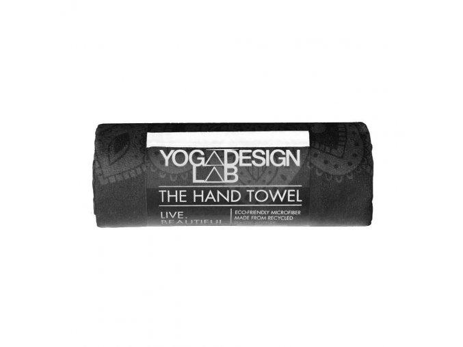 Yoga Design Lab Hand Towel Mandala Black uterák na ruky 38 x 61 cm za 17,99 Dovoz od 75 EUR zdarma, doručenie do 2 dní, 98% spokojnosť, 100 dní na vrátenie.  1