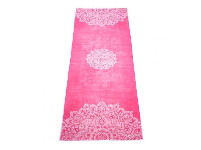 Yoga Design Lab Mat Towel Mandala Rose uterák na podložku 183 x 61 cm za 41,99 Dovoz od 75 EUR zdarma, doručenie do 2 dní, 98% spokojnosť, 100 dní na vrátenie.  1