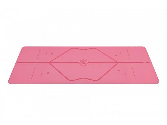 Liforme Yoga Mat podložka 4mm (ružová)