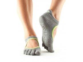 Objedajte si Toesox Fulltoe Bellarina Grip protišmkové ponožky Heather Grey za 14,49 Dovoz od 75 EUR zdarma, doručenie do 2 dní, 98% spokojnosť, 100 dní na vrátenie. 1527 1