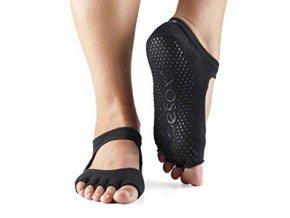 Objedajte si Toesox Halftoe Bella Grip protišmykové ponožky (čierna) za 14,49 Dovoz od 75 EUR zdarma, doručenie do 2 dní, 98% spokojnosť, 100 dní na vrátenie.  1
