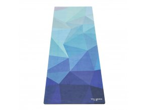 Yoga Design Lab Mat Towel Geo Blue uterák na podložku 183 x 61 cm za 41,99 Dovoz od 75 EUR zdarma, doručenie do 2 dní, 98% spokojnosť, 100 dní na vrátenie.  1