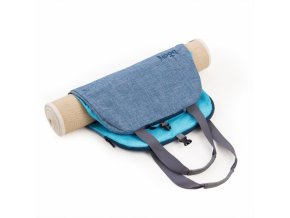 917b yoga bodhi yoga tasche namaste light blue liegend