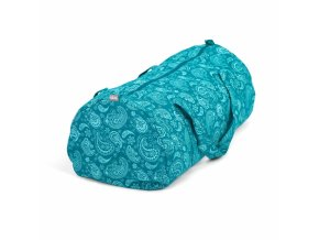 545pp maharaja collection yoga gemusterte hot yoga bag paisley petrol