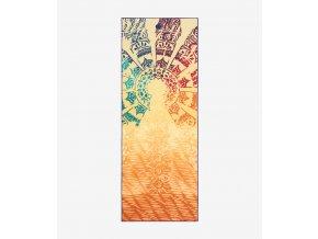 MANDUKA yogitoes® joga uterák - Chakra print (žltá)