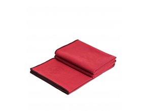 Manduka eQua® Yoga mat towel - passion (červená)