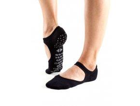 Tavi Noir Grip Socks Chey Ebony protišmykové ponožky otvorené