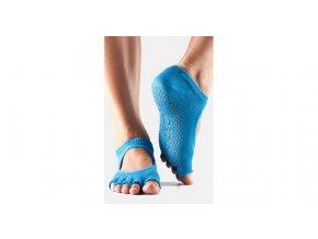 Toesox Halftoe Bella Grip protišmykové ponožky (Skydiver)