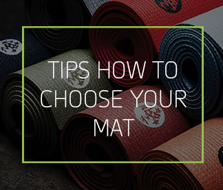 Tips how to choose yoga mat