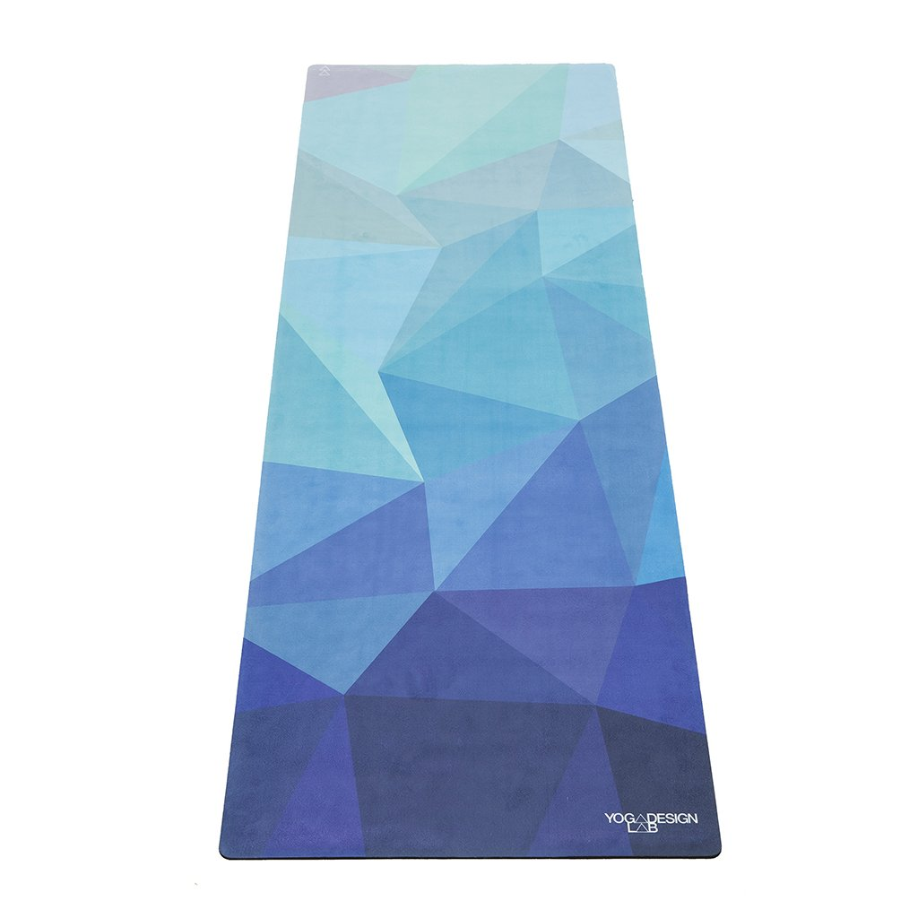 Yoga Design Lab Commuter Check Geo Blue yoga mat 1.5 mm198/S12