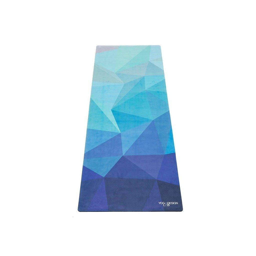 Design Lab Yoga Travel Mat Geo Blue yoga mat 1 mm11464