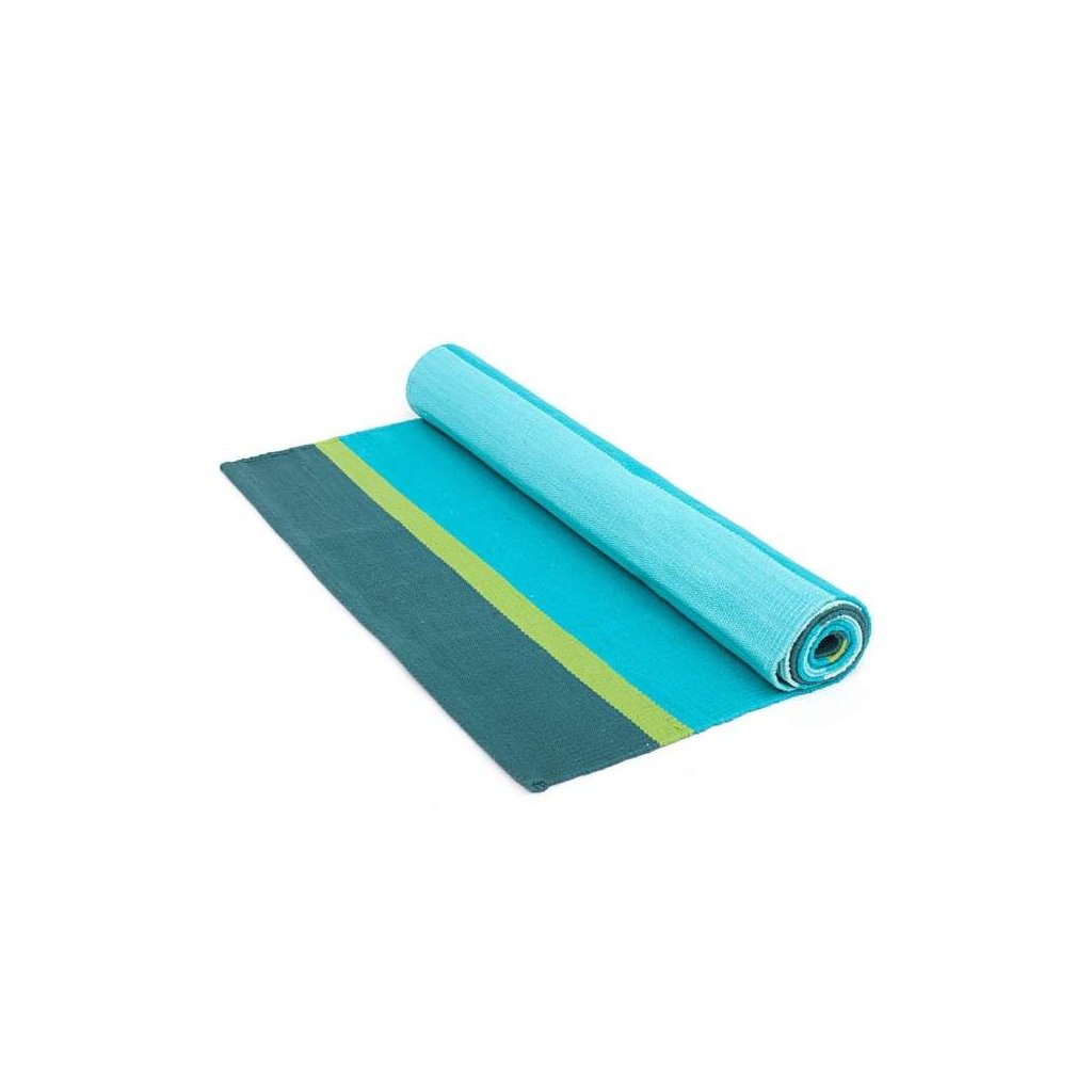 Bodhi carpet yoga Turquoise 198 x 65 cm198/S22