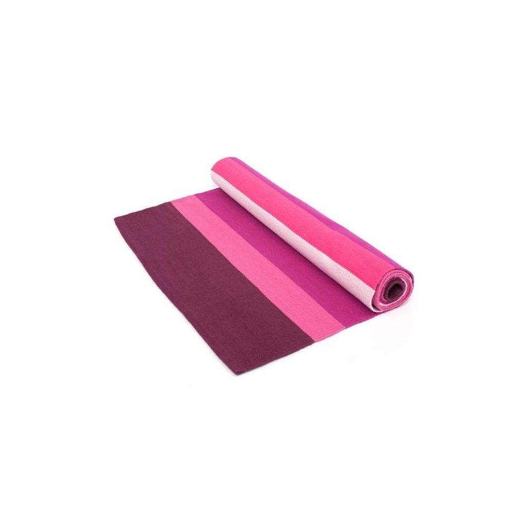 Bodhi carpet Ashtanga Yoga Purple / Pink 198 x 65 cm198/S24