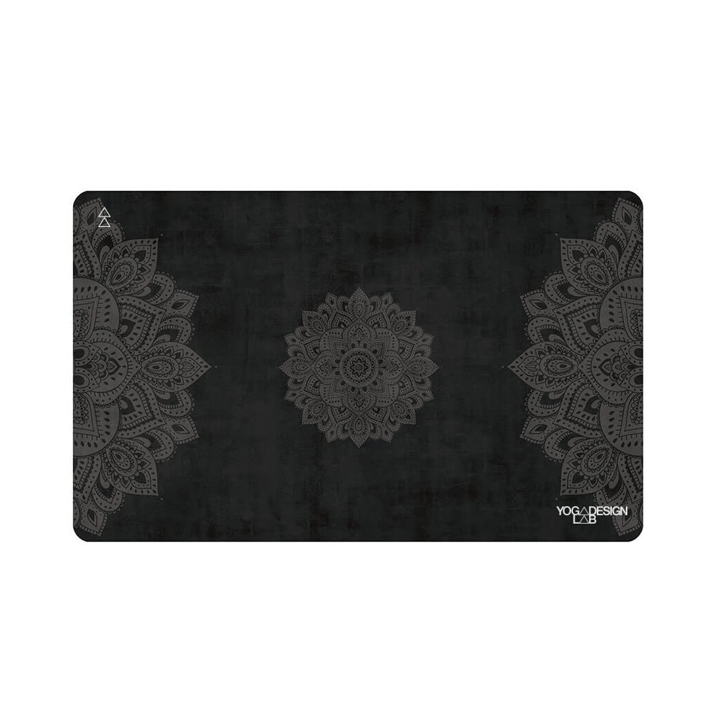 Yoga Hand Towel Design Lab Mandala Black hand towels 38 x 61 cm11611