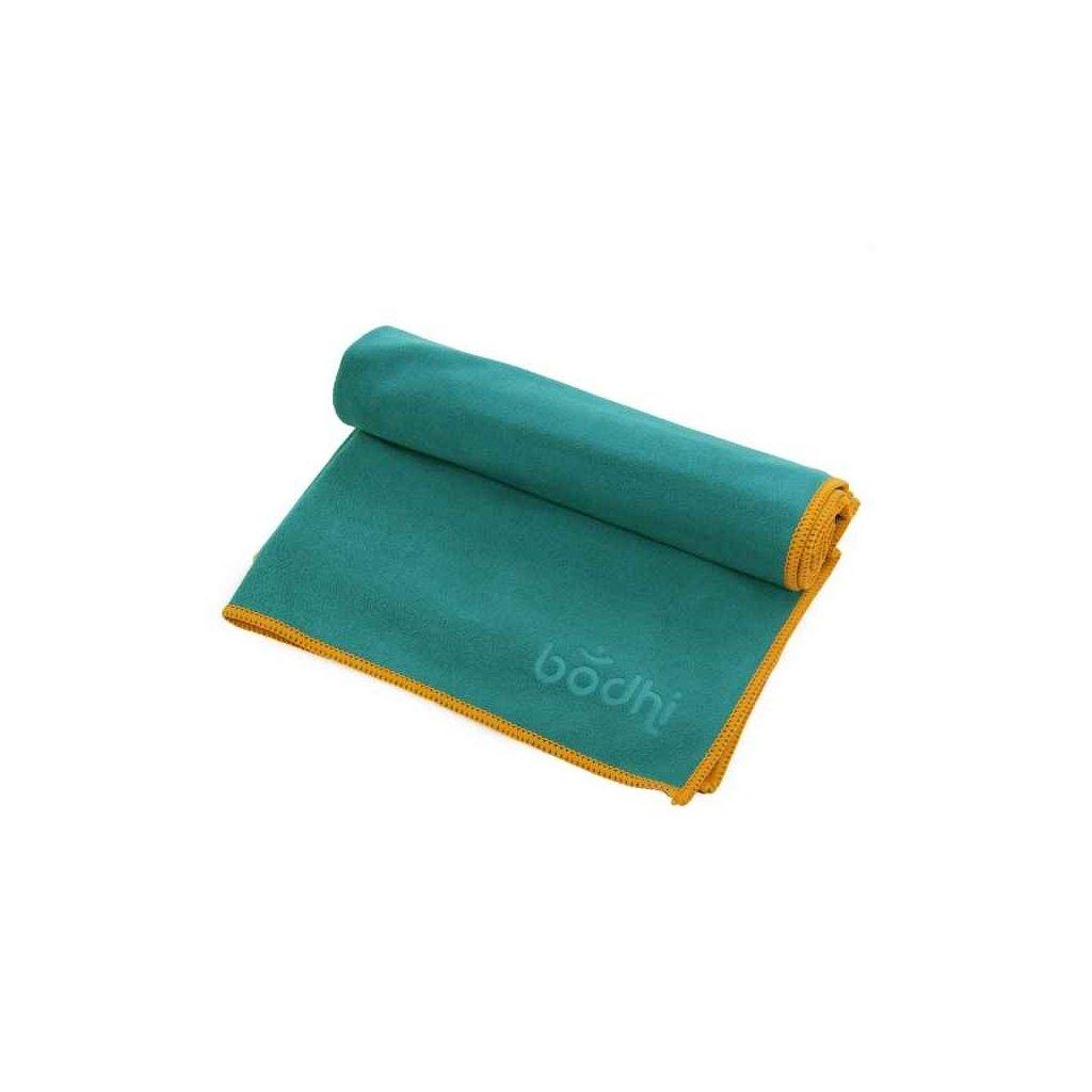 Bodhi Yoga towel Hand No Sweat FUN 68 x 40 cm (turquoise)1953