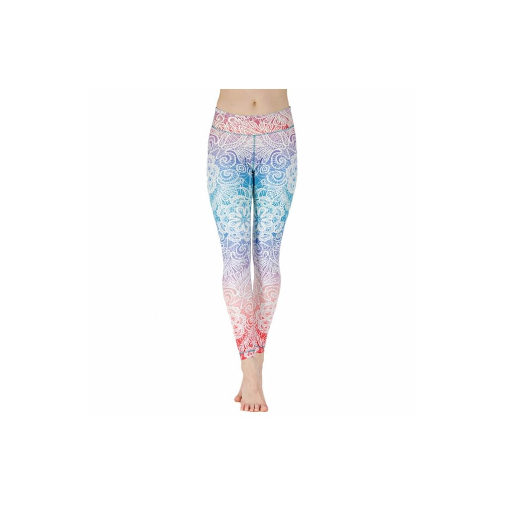 Bodhi Niyama Yoga Leggins Sweet Summer Child12744/XS