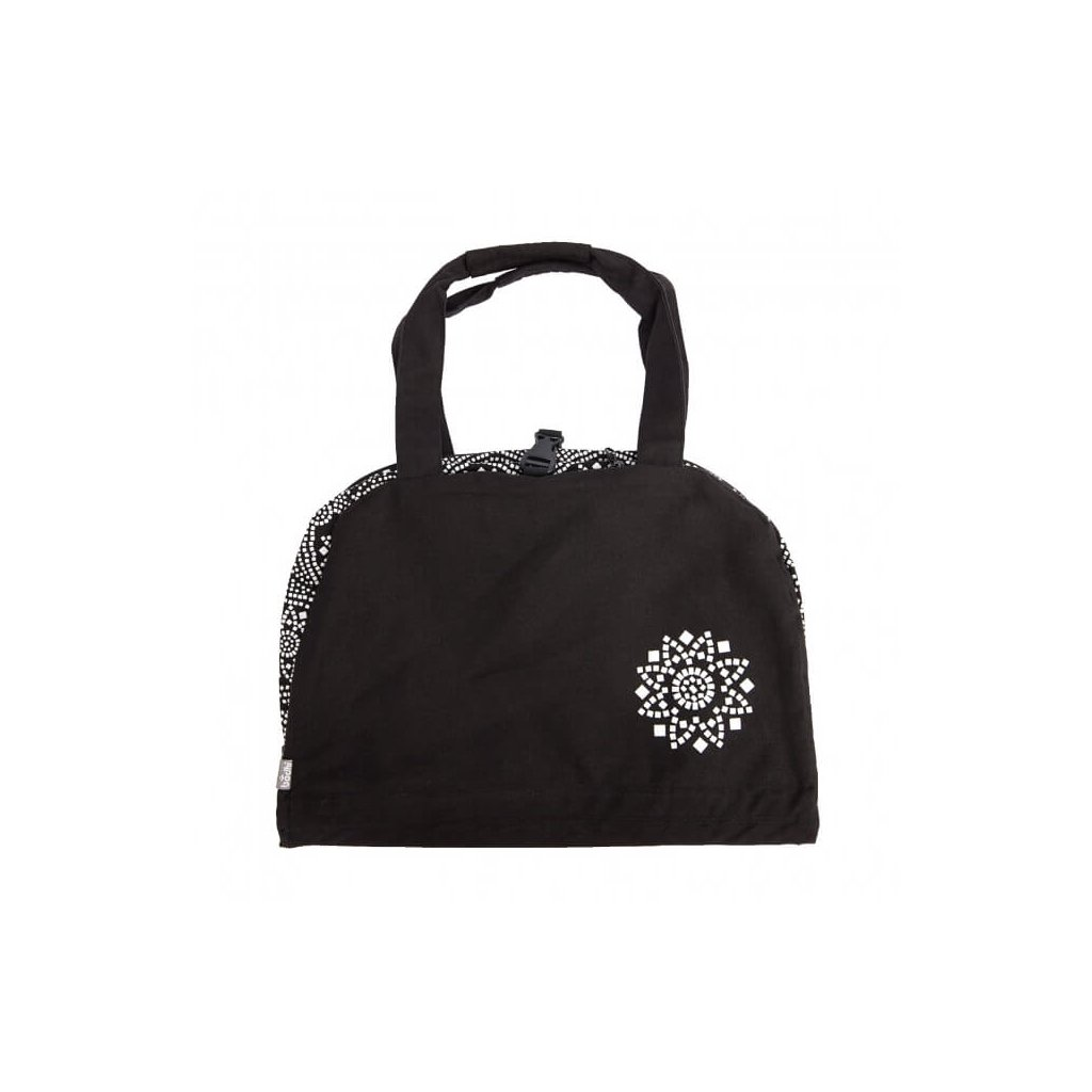 Bag Yoga Bodhi Maharaj Namasté Bandhani cotton (white)198/S87
