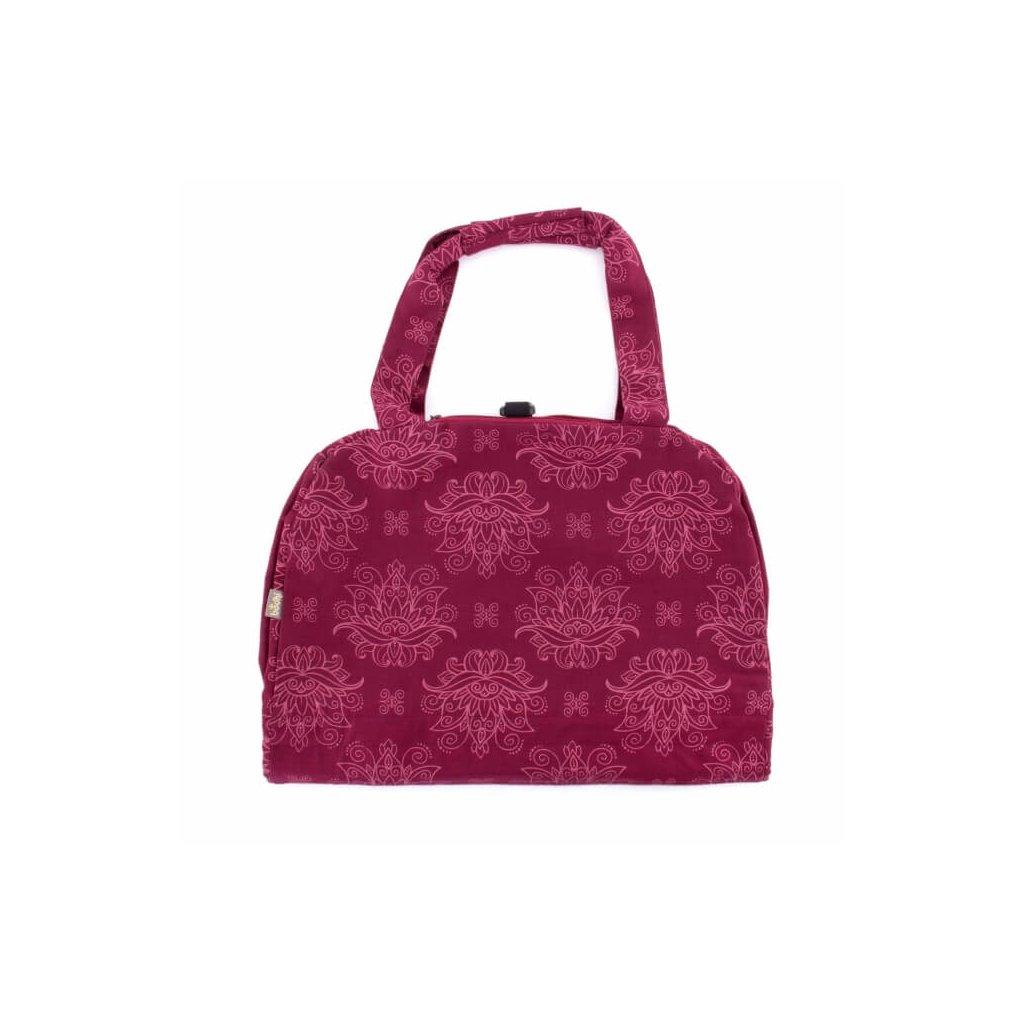 Bag Yoga Bodhi Maharaj cotton Namaste Lotus (Pink)198/S88
