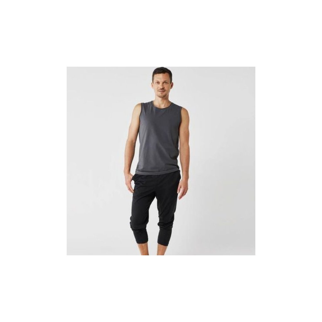 Lotuscrafts Yoga Tank Top Men's T-shirt (gray)13227/XL