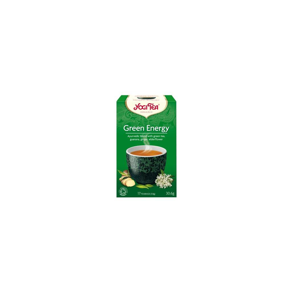 Yogi Tea Green Energy (Green Energy) Ayurvedic green tea Guarana 17 x 1.8 g198/S121