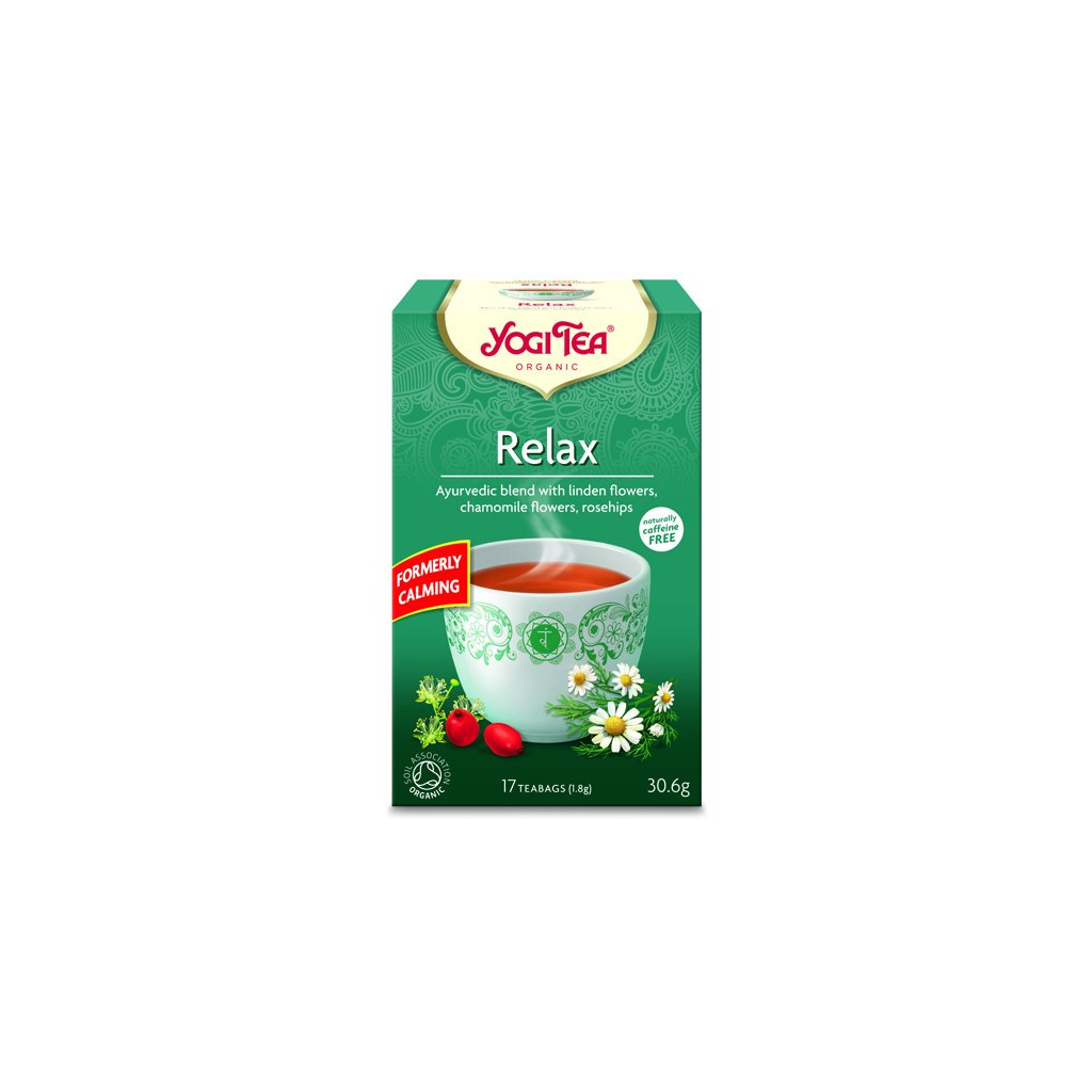 Relax Yogi Tea Ayurvedic herbal tea 17 x 1.8 g198/S140