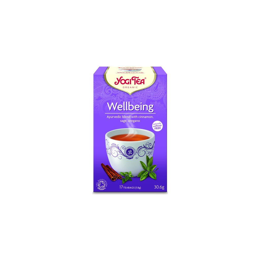 Yogi Tea wellbeing (overall balance) Ayurvedic herbal tea 17 x 1.8 g198/S141