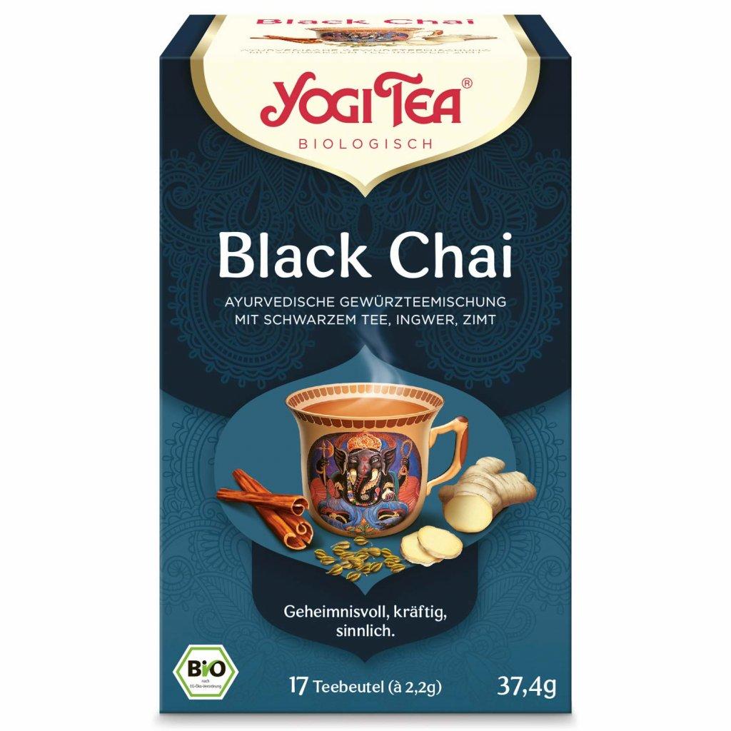 Yogi Tea Black Chai Ayurvedic black tea with ginger 17 × 2.2 g198/S144