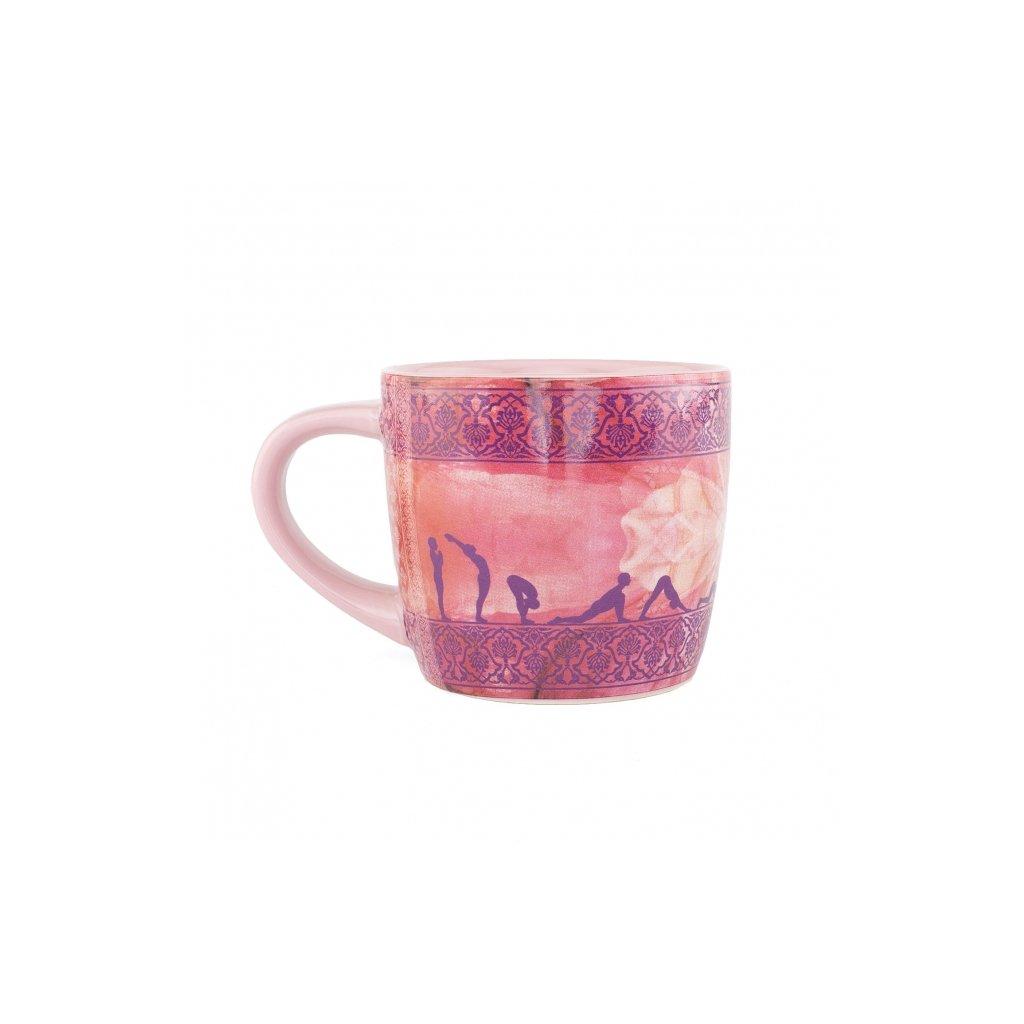 Bodhi Yogi Mug ceramic mug Sun Salutation 300 ml198/S164