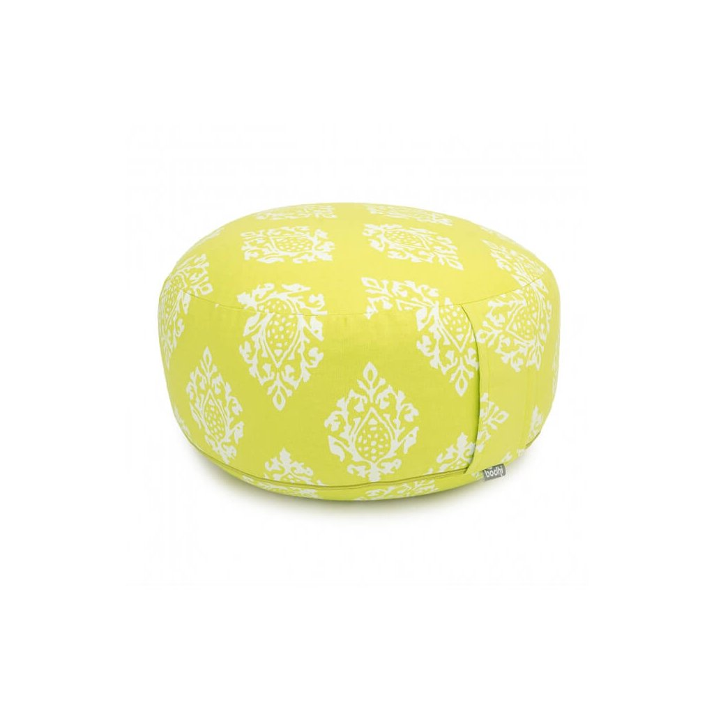 Bodhi Maharaj Rondo meditation cushion Shimla (lime)14160/PAL