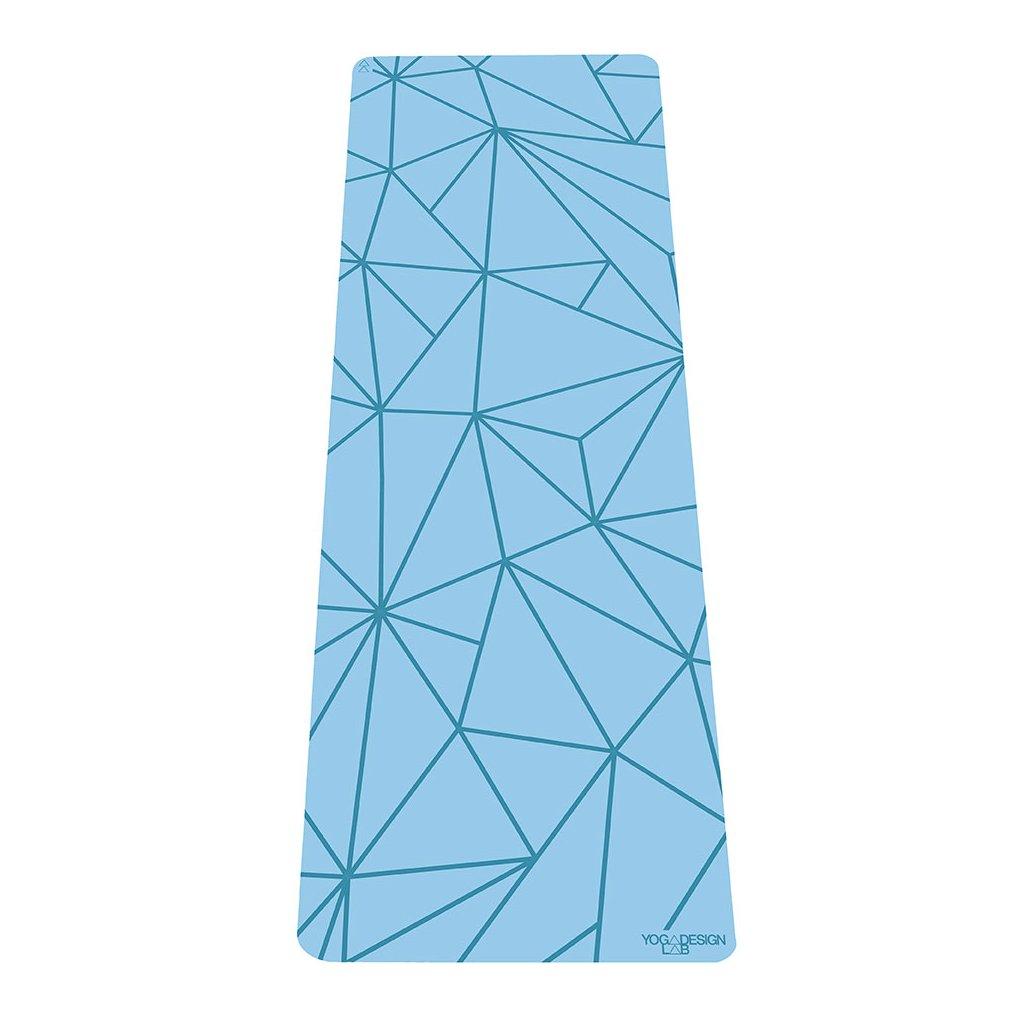 Yoga Design Lab The Infinity Mat Geo Aqua 5 mm Yoga mat198/S224