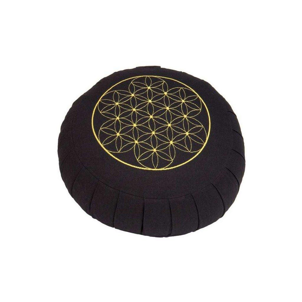 Meditation cushion ZAFU BASIC - Flower of Life (spelled)15063/MOD