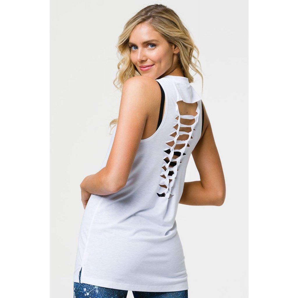 Onzie BRAID TANK shirt white15339/S