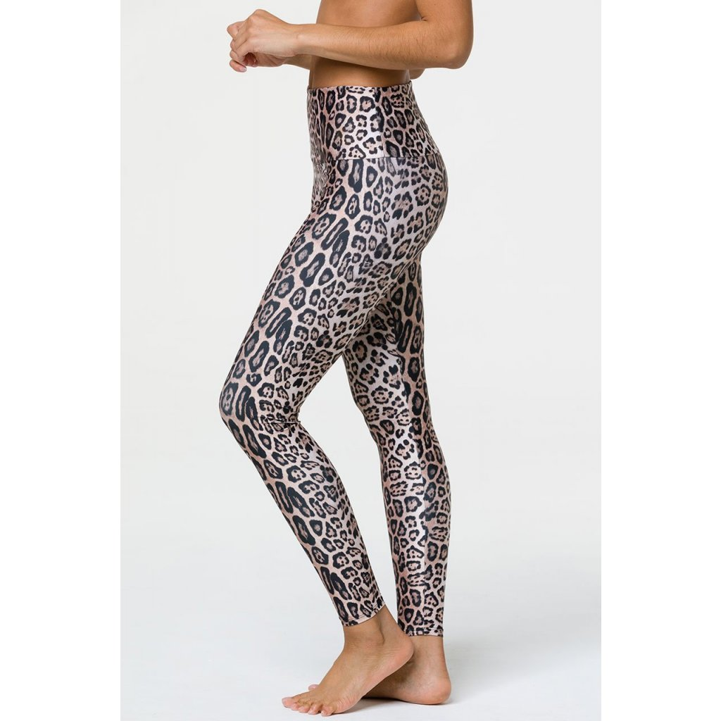 ONZIE High Rise Leopard Leggins15360/S