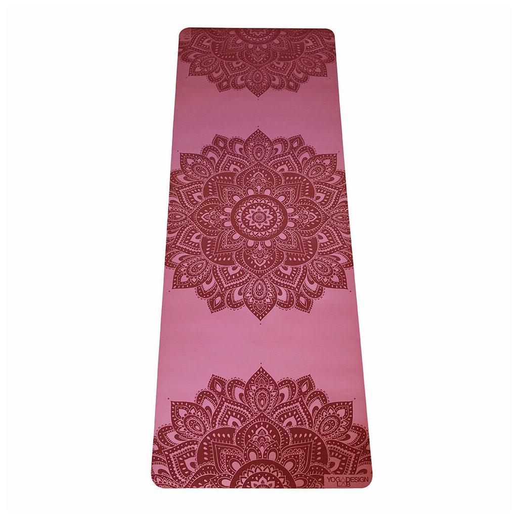 Yoga Design Lab Check the Infinity Mandala Rose 5 mm Yoga mat198/S326