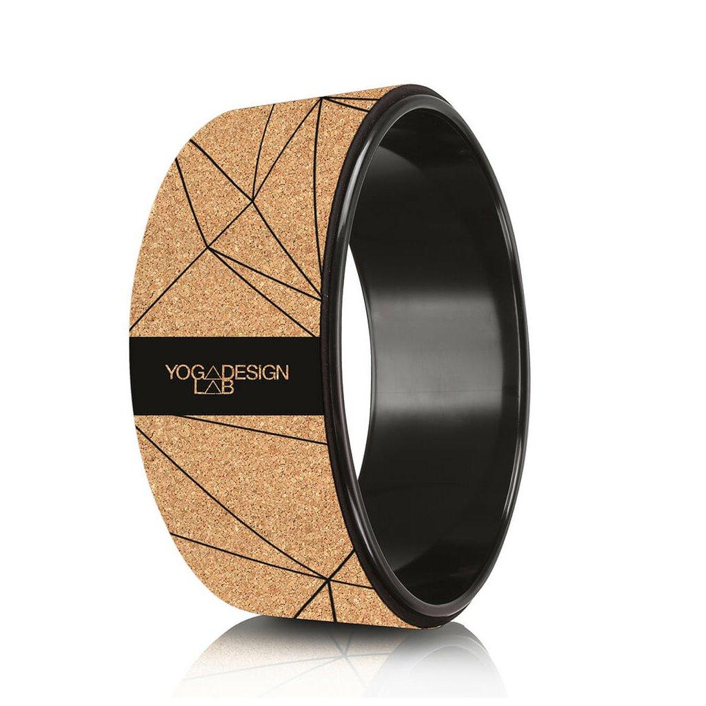 Yoga Yoga Design Lab Wheel GEO Black cork wheel198/S331