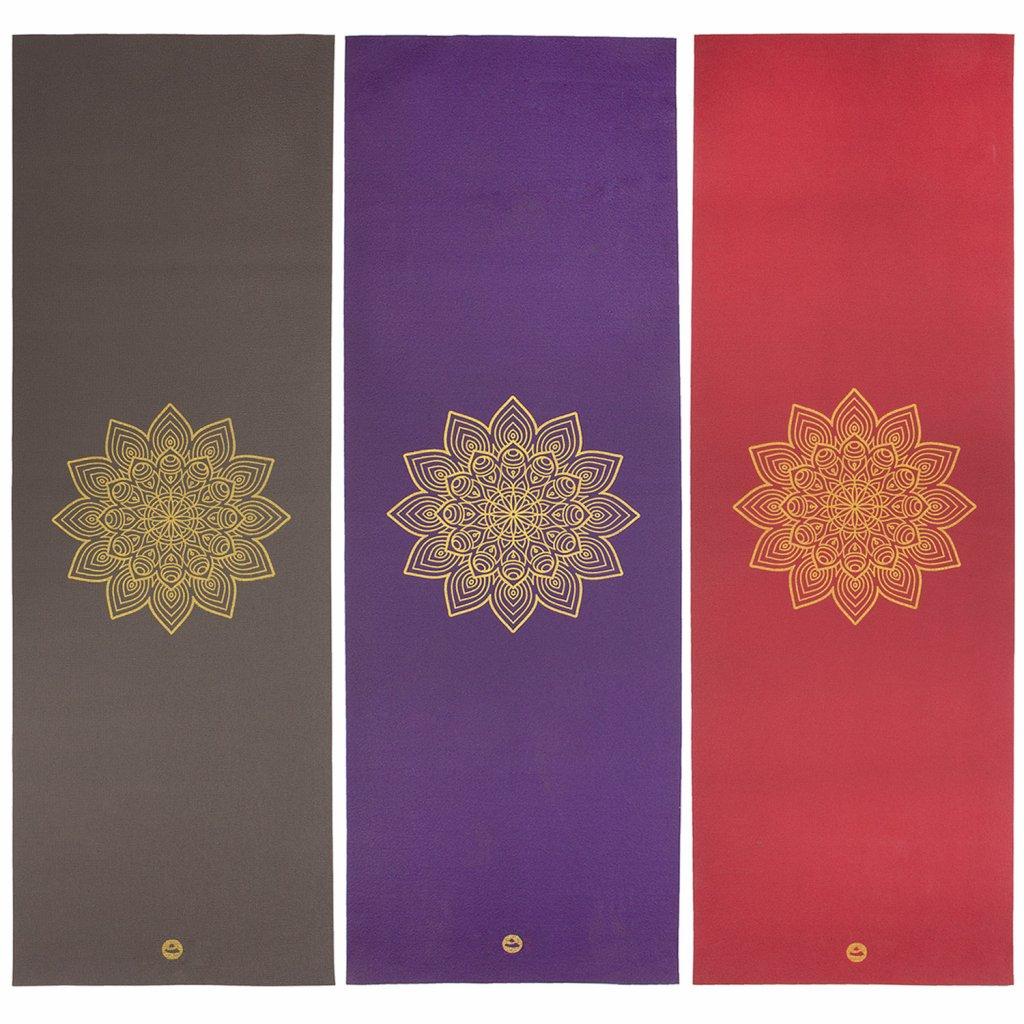 Bodhi Rishikesh Premium mat with gold Mandalo 4.5 mm15642/VIN
