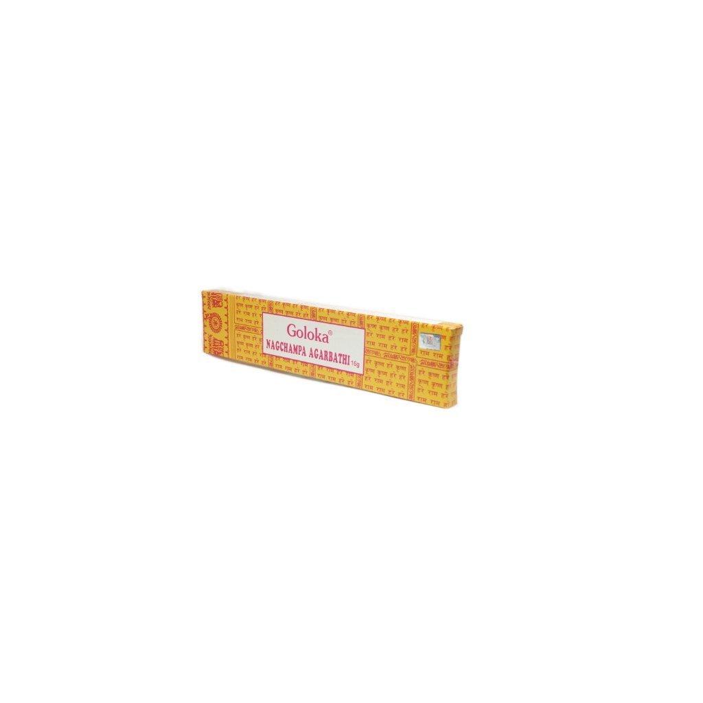Flexity Ayurvedic Goloka Nag Champa Agarbathi Incense sticks 16 g