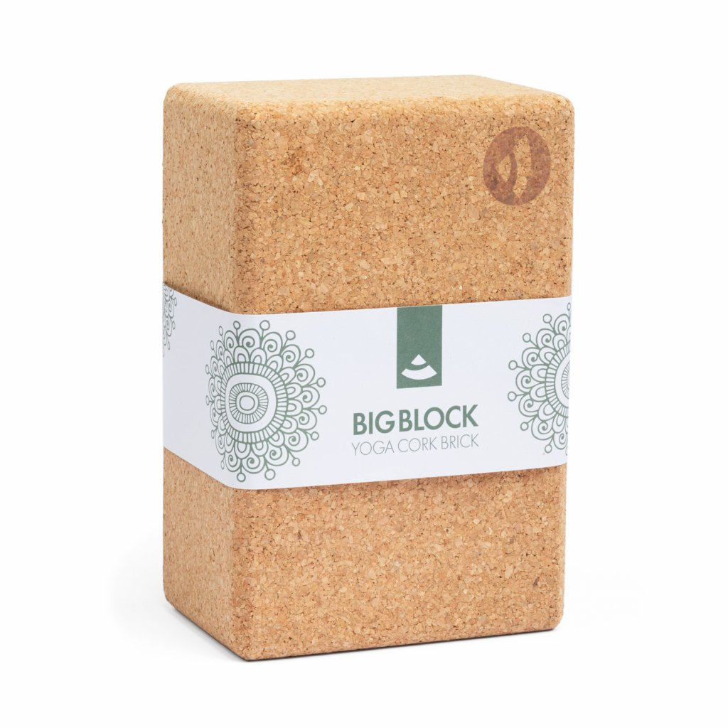 ykxxl yoga meditation big block cork brick banderole
